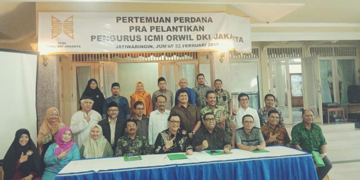 ICMI ORWIL DKI JAKARTA Gelar Rapat Pra Pelantikan Pengurus Internal