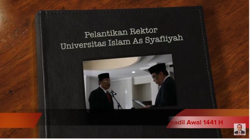 PELANTIKAN REKTOR UNIVERSITAS ISLAM AS-SYAFI'IYAH
