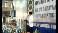 SAMBUTAN DI MASJID ISTIQLAL JAKARTA